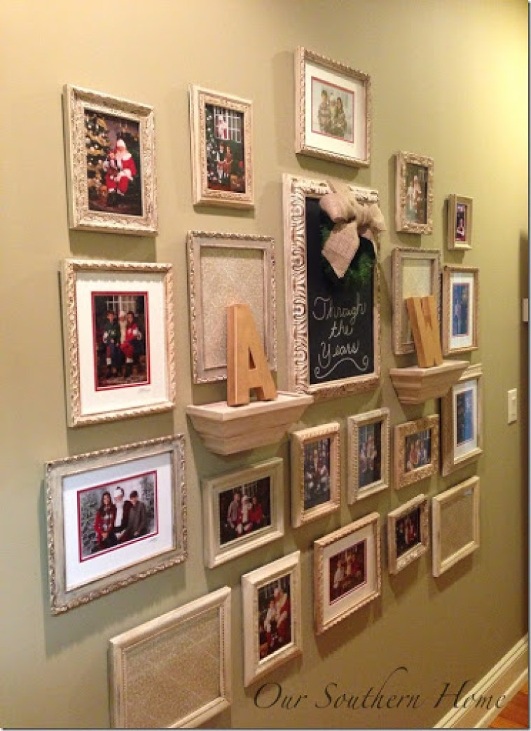 Photo Wall Idea #4 To Display Family Photos
