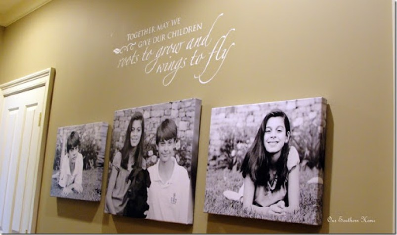 Photo Wall Idea #5 To Display Family Photos