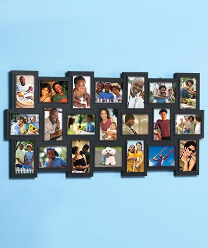 Photo Wall Idea #6 To Display Family Photos