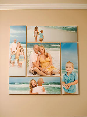 Photo Wall Idea #7 To Display Family Photos