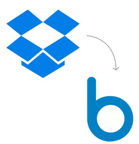 Transfer from Dropbox to Box
