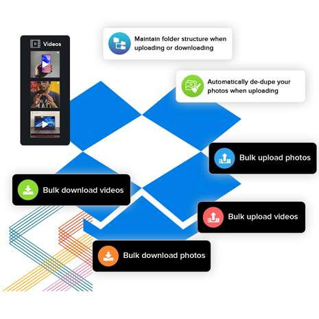 The fastest way to download photos & videos from Dropbox