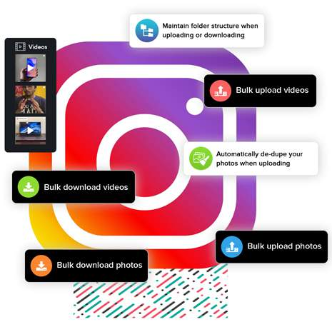 The fastest way to download photos & videos from Instagram