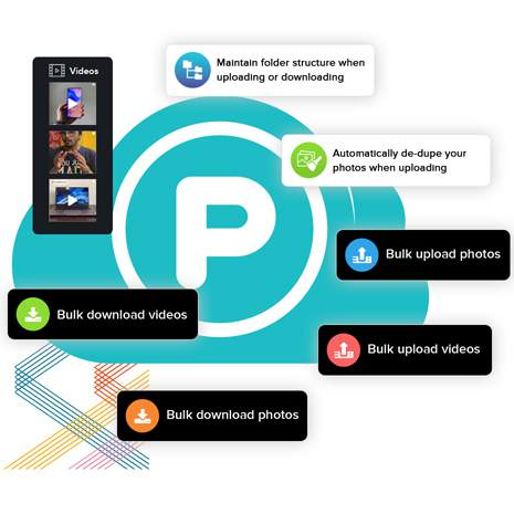 The fastest way to download photos & videos from pCloud