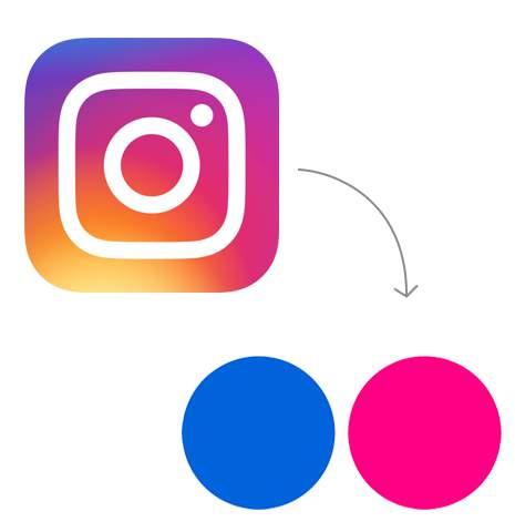 Transfer from Instagram to Flickr